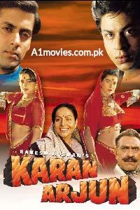 Karan Arjun (1995) Hindi Full Movie Watch HD Quality Online Download Free