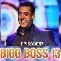 Bigg Boss (2019) Hindi Season 13 Episode 57