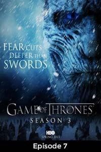 Game Of Thrones Season 3 (2013) Hindi Dubbed [Episode 7]
