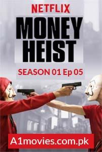 Money Heist (La casa de papel 2017) S01E05 Watch HD Print Online Download Free