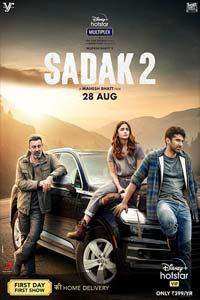 Sadak 2 (2020) Hindi Full Movie Watch HD Print Online Download Free