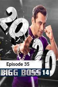 Bigg Boss (2020) Hindi Season 14 Episode 35 (7th-NOV) Watch Online Free Download
