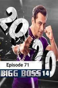 Bigg Boss (2020) Hindi Season 14 Episode 71 (13th-DEC) Watch HD Print Online Download Free