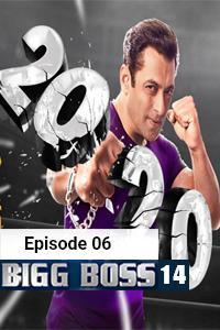 Bigg Boss (2020) Hindi Season 14 Episode 6 (9th-OCT) Watch HD Print Online Download Free